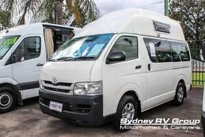 U3441 Talvor Toyota Hiace Hi-top Twin Single Beds Penrith Penrith Area Preview