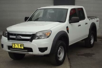 2011 Ford Ranger PK XL (4x4) White 5 Speed Automatic Dual Cab Pick-up Riverstone Blacktown Area Preview