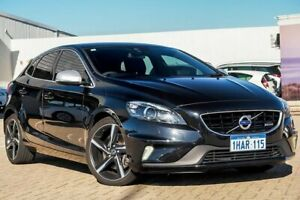 2014 Volvo V40 M Series MY15 T5 Adap Geartronic R-Design Black 8 Speed Sports Automatic Hatchback Morley Bayswater Area Preview