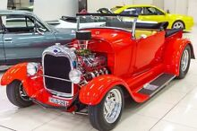 1928 Ford Hot Rod MODEL A Red Automatic Utility Carss Park Kogarah Area Preview