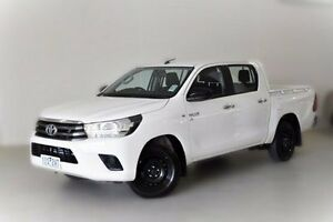 2015 Toyota Hilux GGN120R SR Double Cab White 6 Speed Sports Automatic Utility Berwick Casey Area Preview