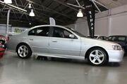 2005 Ford Falcon BA MkII XR6 Silver 4 Speed Auto Seq Sportshift Sedan Victoria Park Victoria Park Area Preview