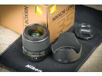 Nikon 35mm f/1.8 AF-S G ED FX prime