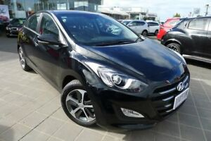 2016 Hyundai i30 GD4 Series II MY17 Active X Black 6 Speed Sports Automatic Hatchback Hoppers Crossing Wyndham Area Preview