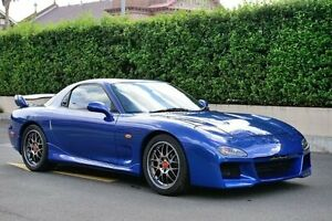 2002 Mazda RX7 FD Bathurst R Blue Manual Coupe Burwood Heights Burwood Area Preview
