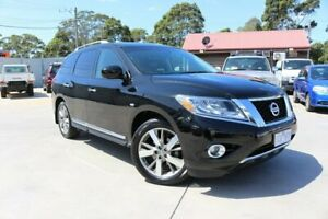 2014 Nissan Pathfinder R52 MY14 Ti X-tronic 2WD Black 1 Speed Constant Variable Wagon Dandenong Greater Dandenong Preview