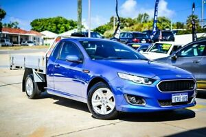 2014 Ford Falcon FG MkII XR6 Super Cab Blue 6 Speed Sports Automatic Cab Chassis