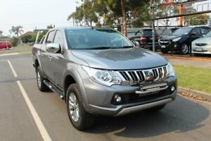2015 Mitsubishi Triton MQ MY16 GLS (4x4) Grey 5 Speed Automatic Dual Cab Utility Hoppers Crossing Wyndham Area Preview
