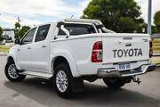 2015 Toyota Hilux KUN26R MY14 SR5 Double Cab Glacier White 5 Speed Automatic Utility Osborne Park Stirling Area Preview