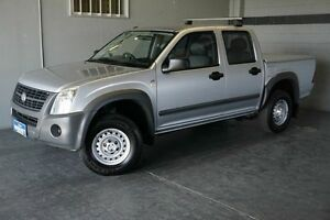 2007 Holden Rodeo RA MY07 LX Silver 4 Speed Automatic Crew Cab P/Up Woodridge Logan Area Preview