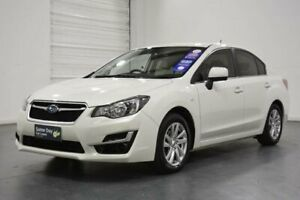 2015 Subaru Impreza MY15 2.0I (AWD) White Continuous Variable Sedan