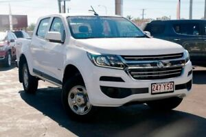 2019 Holden Colorado RG MY19 LS Pickup Crew Cab White 6 Speed Sports Automatic Utility Capalaba Brisbane South East Preview