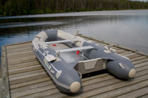 New! Aquamarine 10 Ft. Inflatable boat Deluxe, Fishing Edition