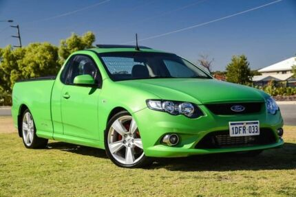 2009 Ford Falcon FG XR6 Ute Super Cab Turbo Green 6 Speed Sports Automatic Utility Wangara Wanneroo Area Preview
