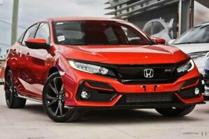 2020 Honda Civic 10th Gen MY20 RS Orange 1 Speed Constant Variable Hatchback Narre Warren Casey Area Preview