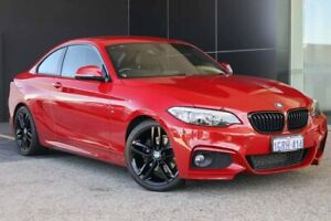 2014 BMW 2 Series F22 220i M Sport Melbourne Red 8 Speed Sports Automatic Coupe Wangara Wanneroo Area Preview