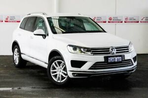 2017 Volkswagen Touareg 7P MY17 150 TDI Element White 8 Speed Automatic Wagon Myaree Melville Area Preview