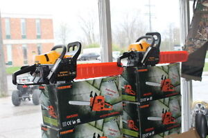 NEW! Gas Chainsaws starting at $99 - ALL SIZES IN STOCK