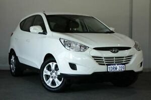 2011 Hyundai ix35 LM MY12 Active White 6 Speed Sports Automatic Wagon Bayswater Bayswater Area Preview