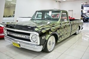 1970 Chevrolet C10 Green Automatic Utility Carss Park Kogarah Area Preview