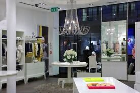 Luxury Children's wear store closure all furniture and fittings must go!