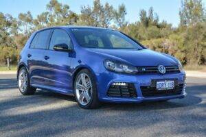 2011 Volkswagen Golf VI MY12 R DSG 4MOTION Blue 6 Speed Sports Automatic Dual Clutch Hatchback Cannington Canning Area Preview