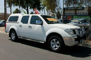 2008 Nissan Navara D40 ST-X (4x4) White 5 Speed Automatic Dual Cab Pick-up Klemzig Port Adelaide Area Preview