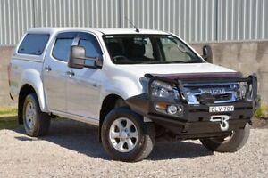 2016 Isuzu D-MAX MY15.5 LS-M Crew Cab White 5 Speed Sports Automatic Utility Wyong Wyong Area Preview