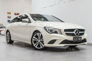 2015 Mercedes-Benz CLA200 Shooting Brake 117 Cirrus White 7 Speed Auto Dual Clutch Wagon Port Melbourne Port Phillip Preview