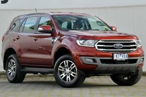 2018 Ford Everest UA II 2019.00MY Trend RWD Red 10 Speed Sports Automatic Wagon Dandenong Greater Dandenong Preview