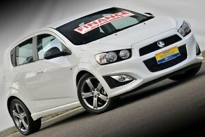 2015 Holden Barina TM MY16 RS White 6 Speed Sports Automatic Hatchback Ferntree Gully Knox Area Preview