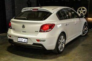 2014 Holden Cruze JH Series II MY14 SRi Z Series White 6 Speed Sports Automatic Hatchback