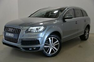 2010 Audi Q7 MY10 TDI Quattro Blue 6 Speed Sports Automatic Wagon Mansfield Brisbane South East Preview