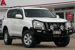 2013 Toyota Landcruiser Prado KDJ150R MY14 GXL White 5 Speed Sports Automatic Wagon Woolloongabba Brisbane South West Preview