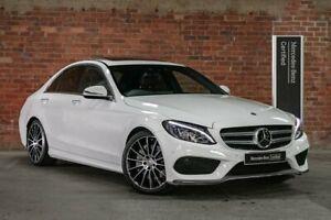 2016 Mercedes-Benz C-Class W205 C250 d White Sports Automatic Mulgrave Monash Area Preview