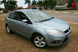 2009 Ford Focus LV TDCi PwrShift Silver 6 Speed Sports Automatic Dual Clutch Hatchback Townsville Townsville City Preview