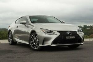 2016 Lexus RC GSC10R RC350 F Sport Silver 8 Speed Sports Automatic Coupe Somersby Gosford Area Preview