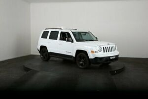 2014 Jeep Patriot MK MY14 Blackhawk White Continuous Variable Wagon McGraths Hill Hawkesbury Area Preview