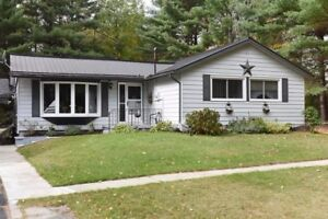 Updated - 3 Bedroom Bungalow with Detached Double Car Garage