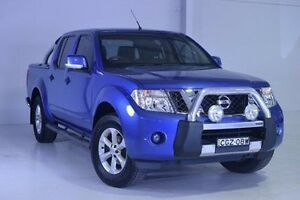 2012 Nissan Navara D40 S6 MY12 ST Blue 6 Speed Manual Utility Wadalba Wyong Area Preview