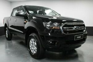 2019 Ford Ranger PX MkIII 2019.00MY XLS Pick-up Double Cab Shadow Black 6 Speed Sports Automatic