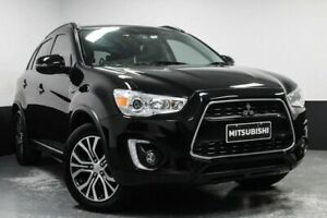 2015 Mitsubishi ASX XB MY15.5 XLS 2WD Black 6 Speed Constant Variable Wagon Hamilton East Newcastle Area Preview