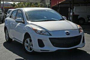 2013 Mazda 3 BL10F2 MY13 Neo White 6 Speed Manual Hatchback Nundah Brisbane North East Preview