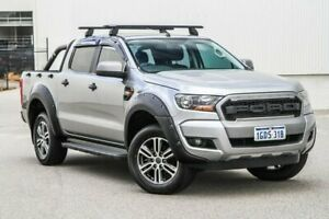 2016 Ford Ranger PX MkII XLS Double Cab Grey 6 Speed Sports Automatic Utility Rockingham Rockingham Area Preview