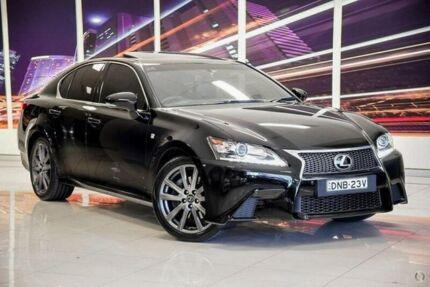 2012 Lexus GS250 GRL11R F Sport Black 6 Speed Sports Automatic Sedan
