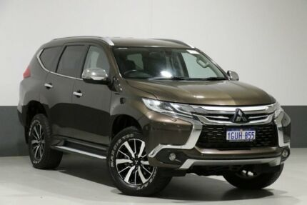 2017 Mitsubishi Pajero Sport MY17 Exceed (4x4) 7 Seat Bronze 8 Speed Automatic Wagon Bentley Canning Area Preview