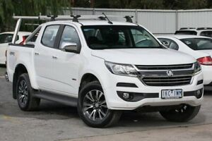 2017 Holden Colorado RG MY17 LTZ Pickup Space Cab White 6 Speed Sports Automatic Utility Ferntree Gully Knox Area Preview