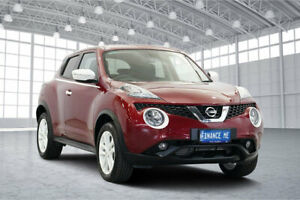 2016 Nissan Juke F15 Series 2 ST X-tronic 2WD Red 1 Speed Constant Variable Hatchback Victoria Park Victoria Park Area Preview