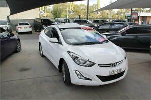2014 Hyundai Elantra MD Series 2 (MD3) Trophy White 6 Speed Automatic Sedan Mitchell Gungahlin Area Preview
