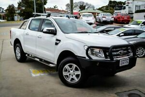 2014 Ford Ranger PX XLT Double Cab White 6 Speed Sports Automatic Utility Myaree Melville Area Preview